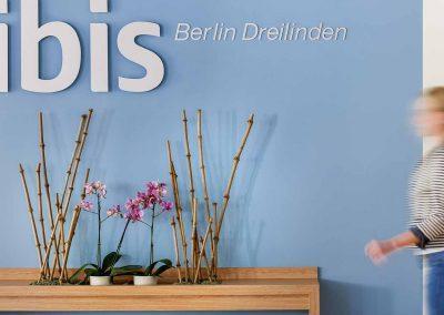 Ibis Hotel Berlin Dreilinden Lobby