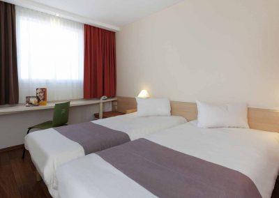 Ibis Hotel Berlin Dreilinden Standardzimmer Twinbett